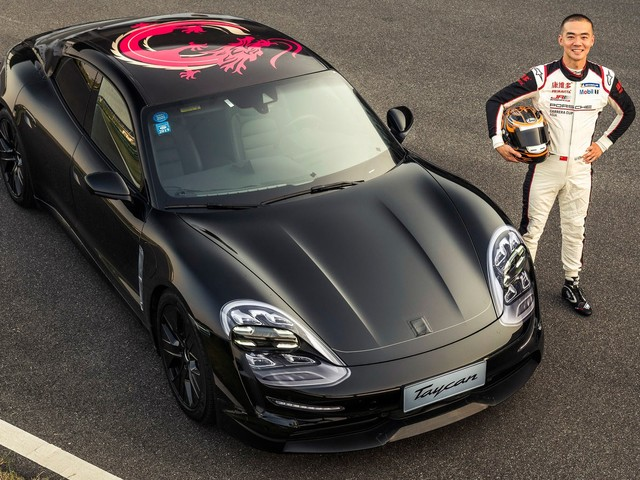 2020 Porsche Taycan Prototype Arrives In Shanghai For Its Chinese Debut