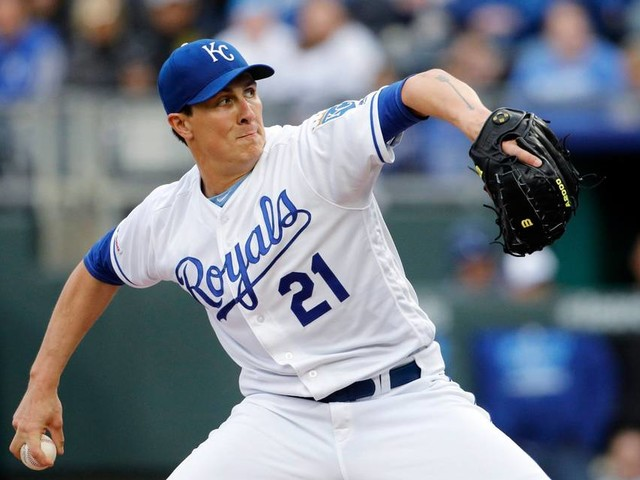 Homer Bailey's performance lifts Royals to back-to-back wins