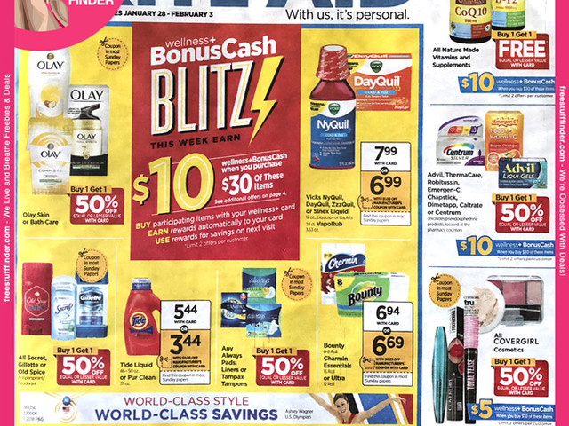 *HOT* Rite Aid Ad Preview (Week 1/28 – 2/3)