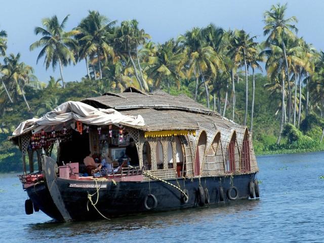 Exploring the backwaters of Kerala