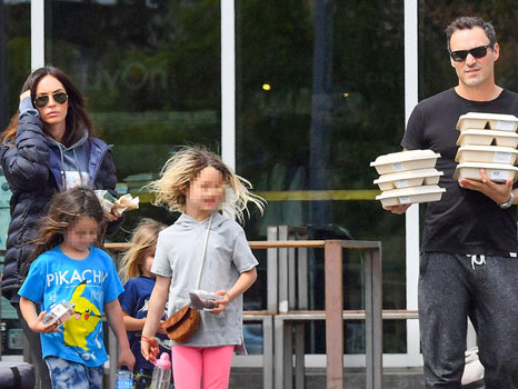 How Megan Fox & Brian Austin Green Are Co-Parenting Their 3 Kids After Heartbreaking Split