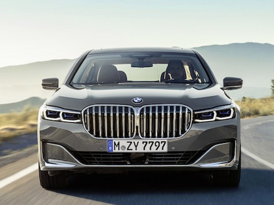 The New BMW 7 Series Wants to Show You Its Massive New Grille