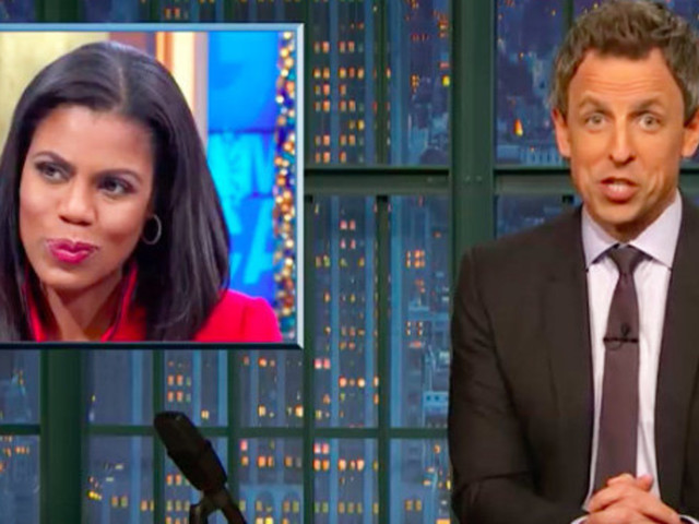 Seth Meyers Trolls Omarosa For Getting Fired