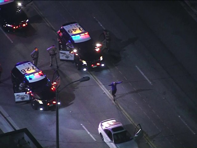 Authorities Arrest Pursuit Driver Who Led CHP on Chase Through Orange, L.A. Counties