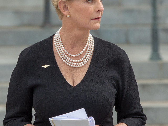 Cindy McCain marks 1 year without her 'rock'