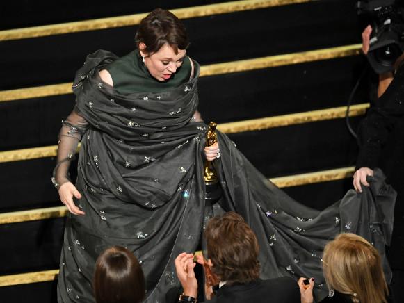 Oscar Winner Olivia Colman Receives BFI Fellowship From 'The Favourite' Director Yorgos Lanthimos