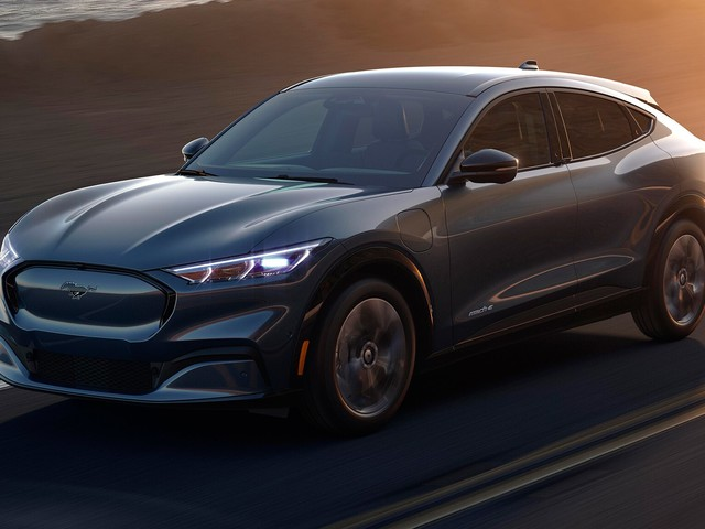 2021 Ford Mustang Mach-E: Impressions From a Ride in Ford's New Electric SUV