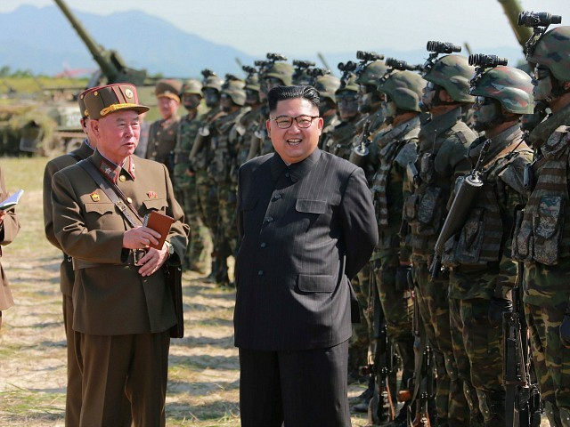 U.S. Navy Chief: Military Option on North Korea 'Not Empty Words'