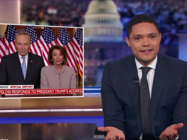 Best of Late Night: Trevor Noah Is Underwhelmed by Democrats' Response to Trump