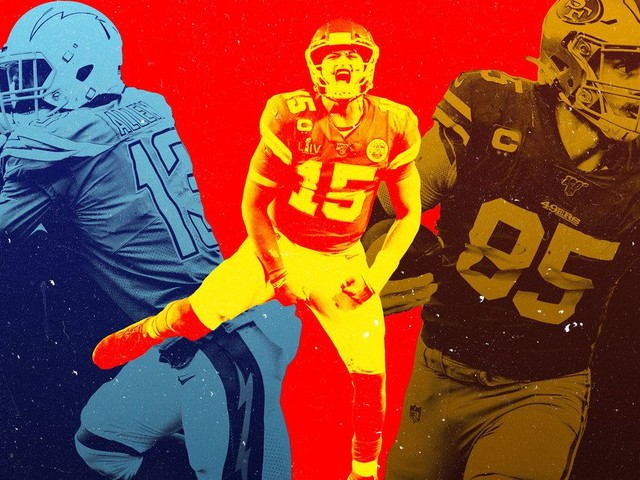 The NFL's Skill-Set Poster Boys