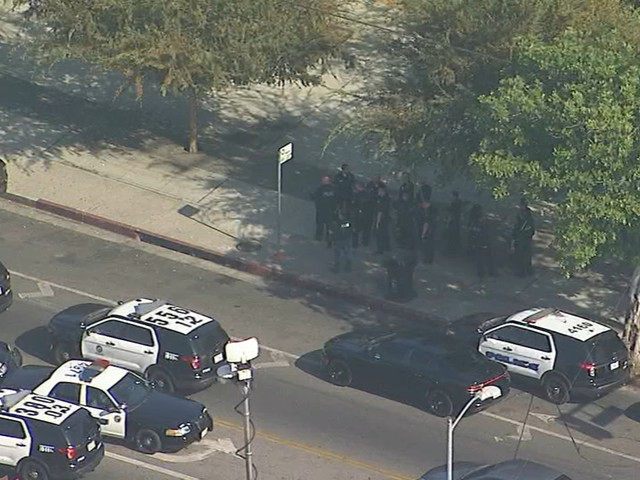 Police descend on Fremont High School in South LA after multiple fights, 'volatile' unrest on campus