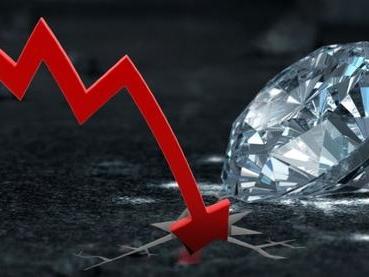 Diamond Crisis: De Beers Sales Crash 44% As Demand Plummets