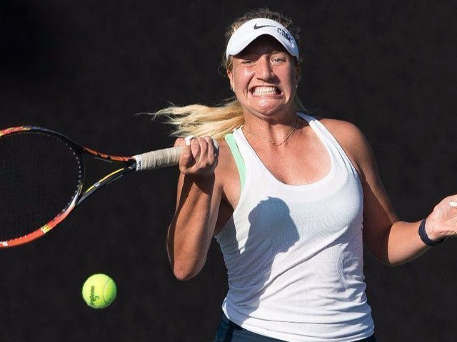 CdM girls' tennis clinches share of 'three-peat' with win over University