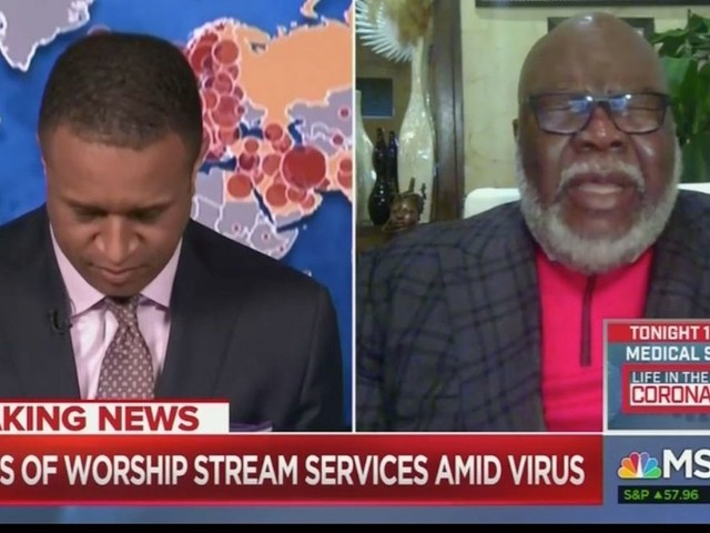 'I've never actually done this on the air': MSNBC host asks Bishop T.D. Jakes to pray on live TV