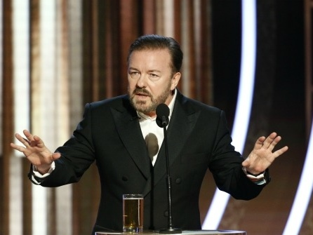 Golden Globes Host Ricky Gervais: Hollywood in No Position to Lecture About Anything. You Know Nothing About the Real World