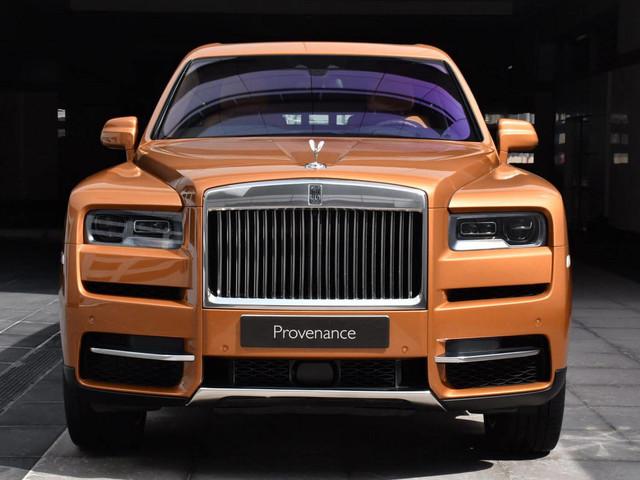 Tuscan Sun Rolls-Royce Cullinan Is Pure Wealth On Wheels