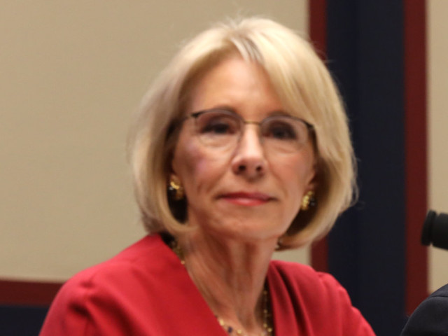 DeVos says Obama 'weaponized' rules created for defrauded students
