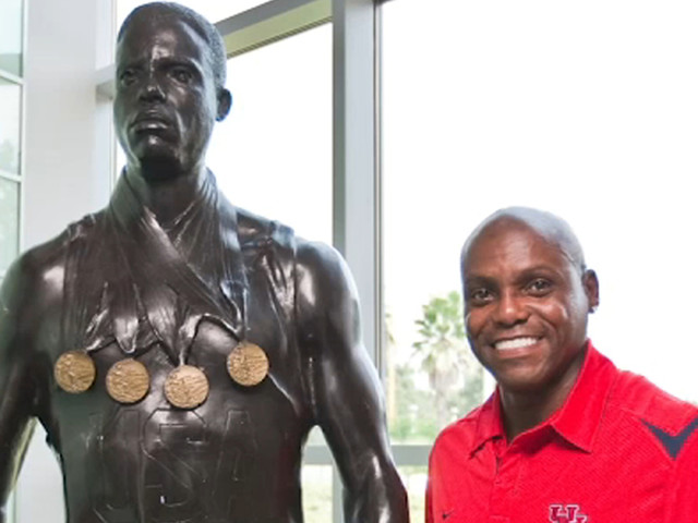 Carl Lewis reflects on Olympic glory and his love for Houston