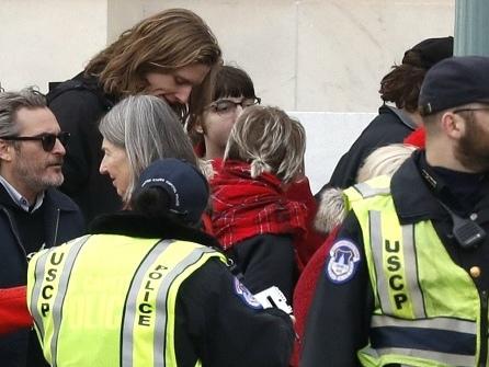 'Joker' Star Joaquin Phoenix Arrested at Jane Fonda Climate Change Protest