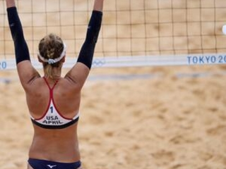 Third-timer, Old-timer: Ross still strong on Olympic beach