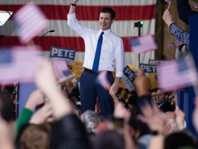 Pete Buttigieg officially announces 2020 bid in stirring speech, brings in $1 million in fundraising in the hours following announcement