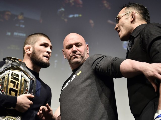 Khabib says he's stuck in Russia, UFC wants new opponent for Tony