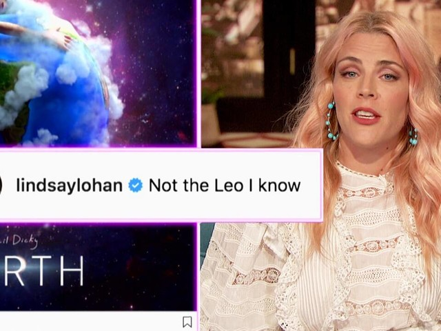 We Have Questions About Lindsay Lohan's Rando Comment