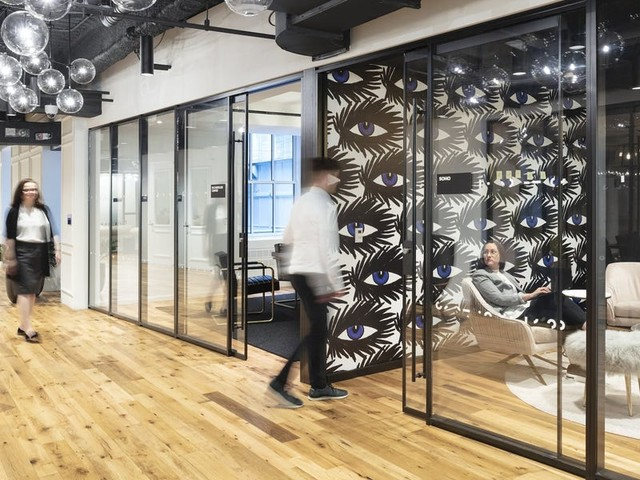 Tishman Speyer is opening its own flex offices without go-betweens like WeWork. We got a look at the landlord's new space in New York.