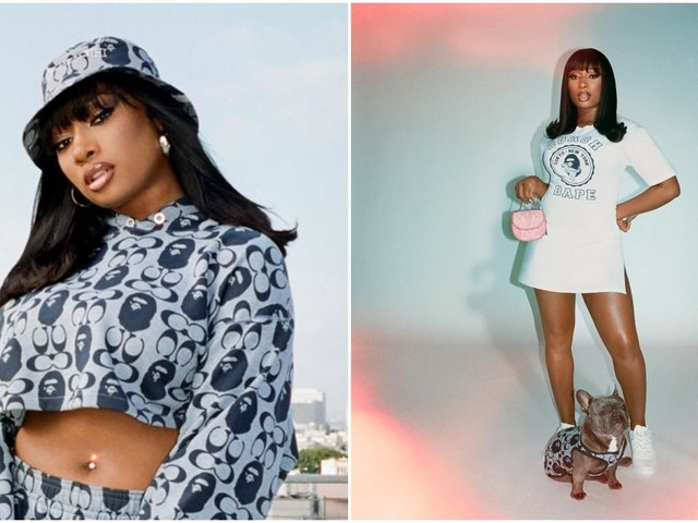 Megan Thee Stallion drops smoking hot campaign with her two adorable pooches