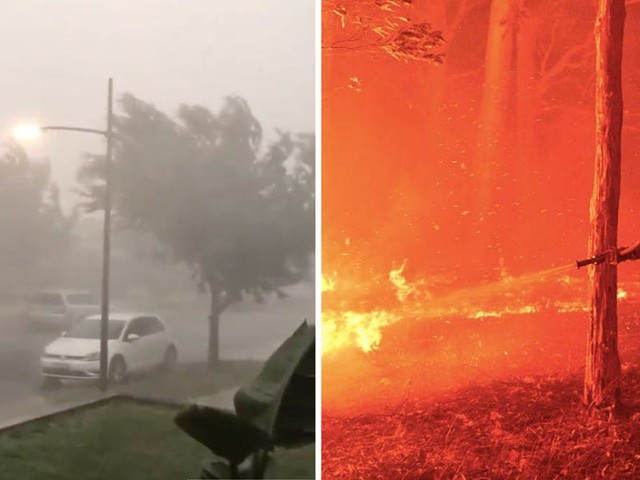 After months of devastating bushfires Australia is finally getting rain, but it won't stop the fires, and is bringing new extreme weather conditions