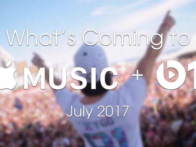 What's coming to Apple Music and Beats 1 in July 2017