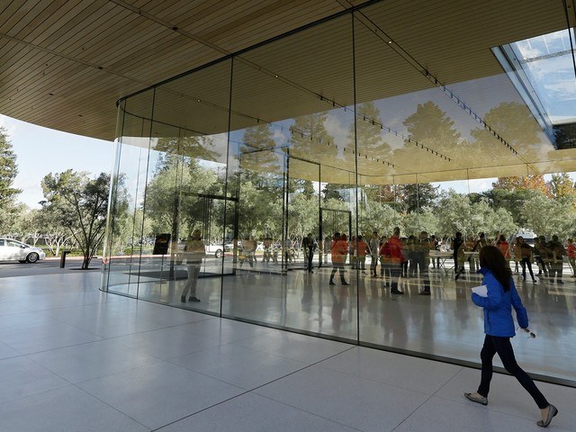 Apple is looking for a giant new office in New York City, report claims (AAPL)