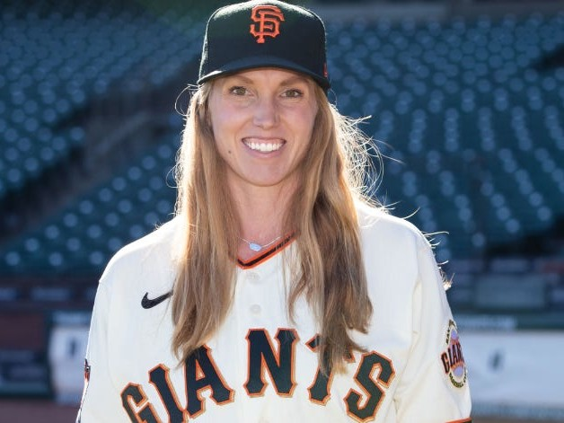 The first female coach in MLB history didn't realize she had been interviewing for the job for a month before the Giants offered it to her
