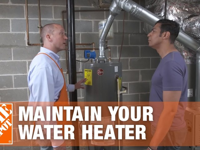 How To Flush & Drain a Hot Water Heater | Maintenance Tips | The Home Depot - YouTube