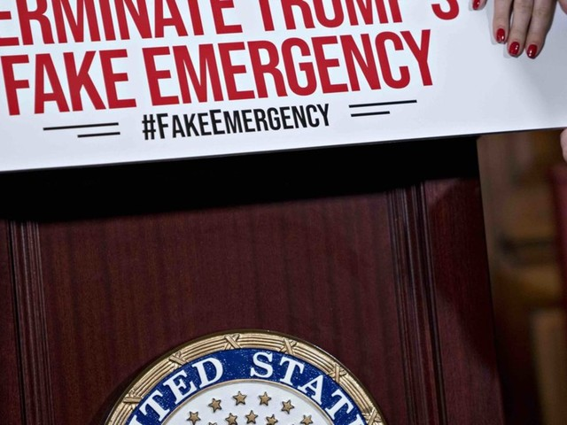 12 Republicans join Senate Democrats to pass resolution disapproving President Trump's border-emergency declaration