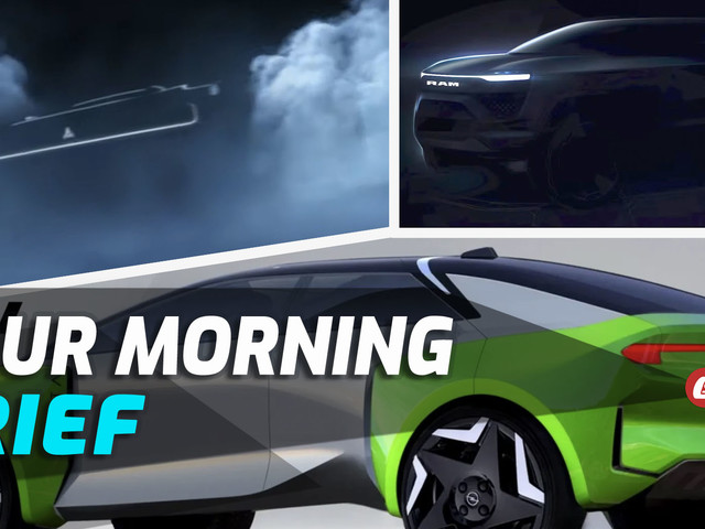 Stellantis Unveils EV Plans, Includes Electric Dodge Charger And RAM 1500, And Trump Sues Social Media: Your Morning Brief