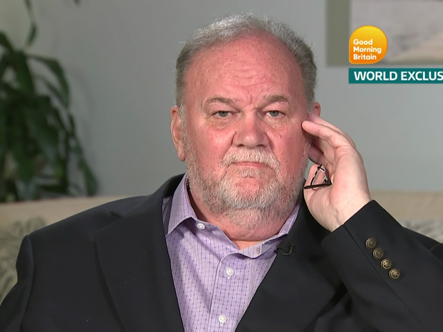 Thomas Markle says, without irony, that Meghan & Harry are 'cheapening' monarchy