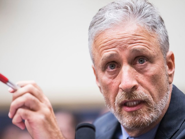 Jon Stewart has some fresh fire for lawmakers who blocked a bill supporting 9/11 first responders
