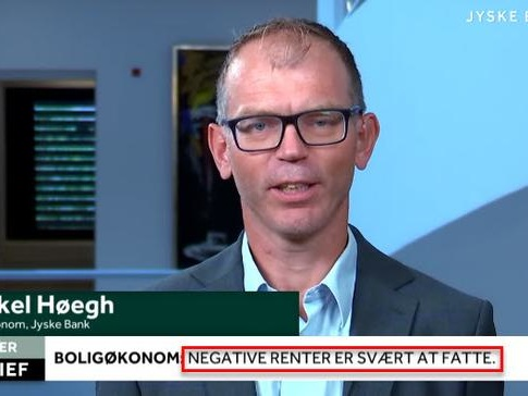 Denmark's 3rd Largest Bank Is Now Paying People To Take Out A Mortgage