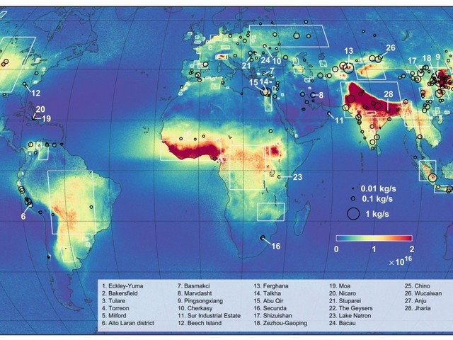 Scary Map Shows Where Animal Poop Is Turning into Deadly Ammonia Pollution