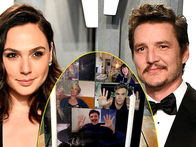 Gal Gadot & 'Wonder Woman' Cast Reunite on Zoom for Pedro Pascal's Birthday!