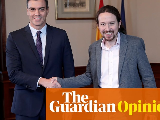 Spain's new coalition must face up to the Catalan crisis and the rise of the far right   Pablo Iglesias
