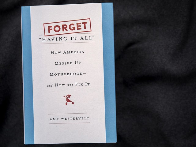 American Motherhood Is 'Messed Up,' Author Says. Here's How She Wants To Fix It