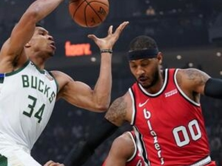 Antetokounmpo has triple-double, Bucks beat Trail Blazers