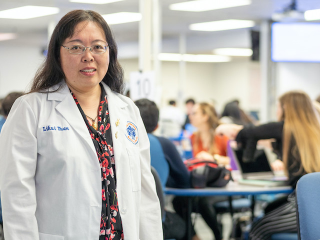 Dr. Lihui Yuan is named the 2019-20 Teacher of the Year