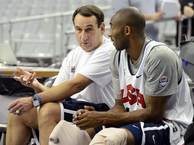 Former USA Basketball coach Mike Krzyzewski remembers Olympic 'leader' Kobe Bryant