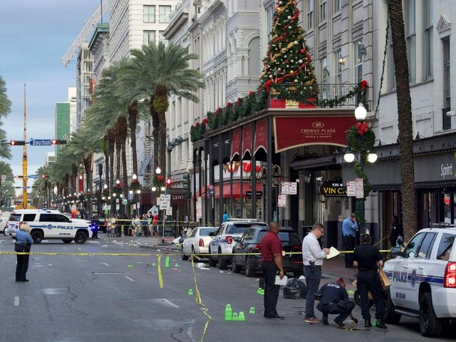 11 injured in shooting in New Orleans' French Quarter