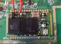 Bluetooth module built into the GPS