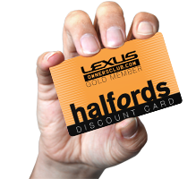 Halfords Discount Card
