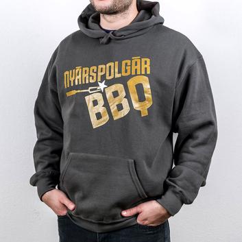 Team nyarspolgar bbq kapucnis pulover pulcsi 1